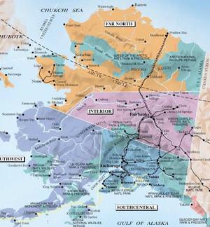 Similiar Map Of Alaska And Artic Circle Keywords